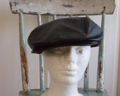 Vintage 60s leather hat  by Scala used in a movie