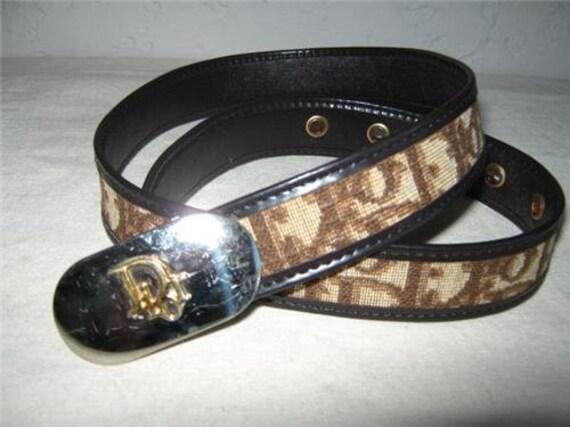 Vintage CHRISTIAN DIOR Belt