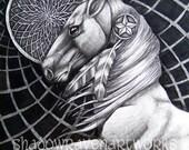 The Dream Horse 8 x 10 giclee print