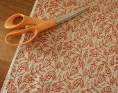 fall - screenprinted fabric