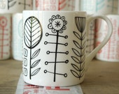 bloomsbury - bone china mug