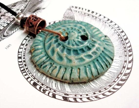 I Sell Seashells Down by the Seashore- Pendant