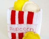 Pretend Food Popcorn Bag Toy