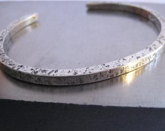 Sweet Silver Cuff Sterling Silver Bracelet