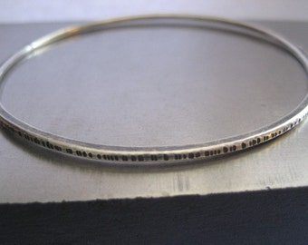 Whisper Sterling Silver Bangle Bracelet