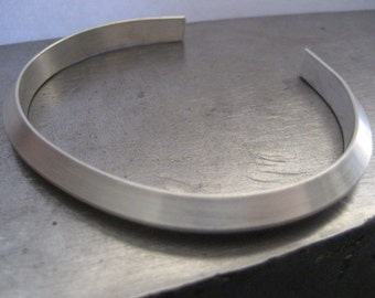 CCC....Chunky Chase Cuff Sterling Silver Bracelet