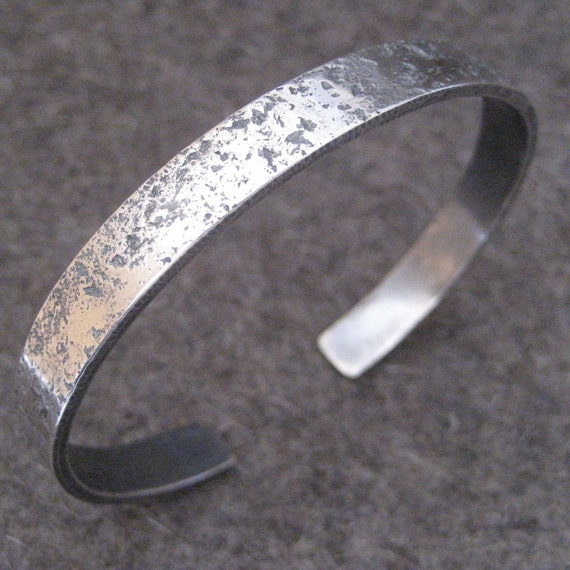 Man Up Cuff Sterling Silver Bracelet