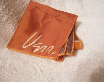 Vintage Vera in Brown, Rust, and Orange Circles