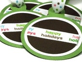 Ornamental Holiday Tags (set of five)