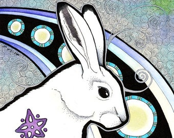 Original - Arctic Hare as Totem