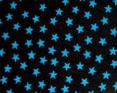 "SMALL fabulous quality blue star cotton lycra 4 way stretch knit fabric (20x58"")  1/2 Yard ~Last1"