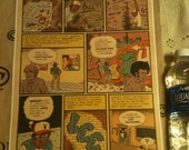 Hip Hop Family Tree,Bull99 Becomes Fred Fab 5 pg 1, 11 x 17 digital print on 110lb. cardstock