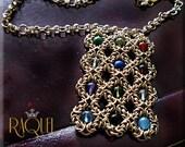 Gold HOSHEN NECKLACE - Aaron's breastplate
