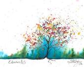 Edwards Tree, PRINT