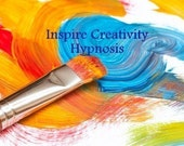 Inspire Creativity Hypnosis CD or mp3 Download. Become creative and enhance the creative process.