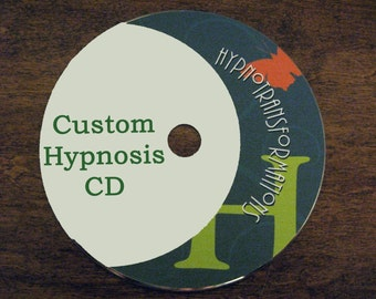 Hypnosis CD  or mp3 download Custom Made Custom Hypnosis Session To Address Any Problem You May Be Experiencing.