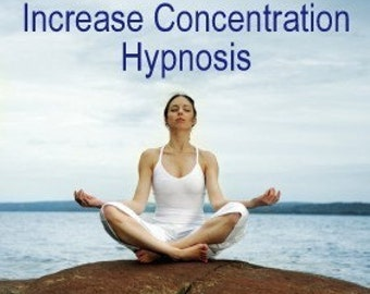 Increase Concentration Hypnosis CD or mp3 Download Attention Deficit Disorder ADHD Children and Adults Treatment