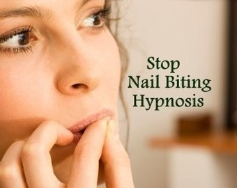 Stop Nail Biting Hypnosis CD or mp3 Download. Stop picking or biting your nails today.