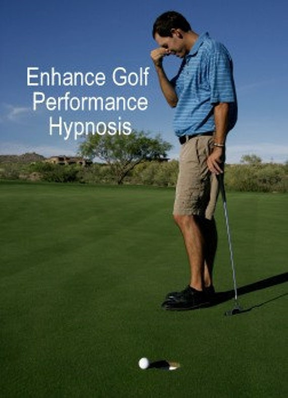 Enhance Golf Performance hypnosis CD or mp3 Download. Improve Your Golf Game Quickly.