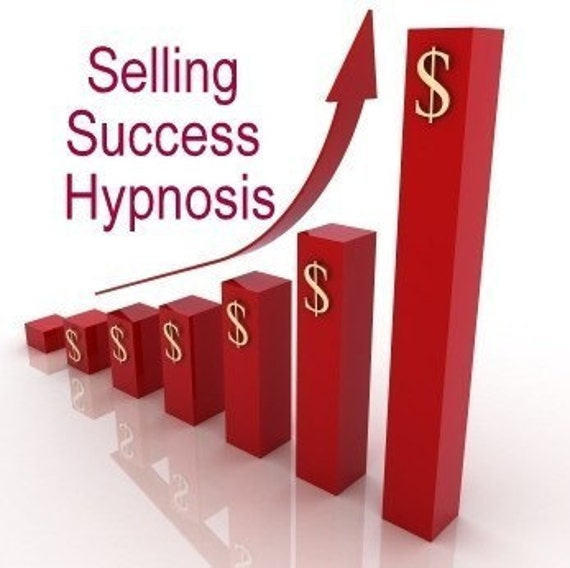 Selling Success Hypnosis CD or mp3 Download Increase Sales, Enhance Selling Confidence and Skills