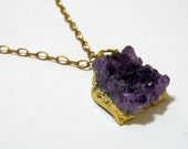 Vibrant Amethyst Necklace