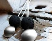 Magma earrings - Sterling Silver