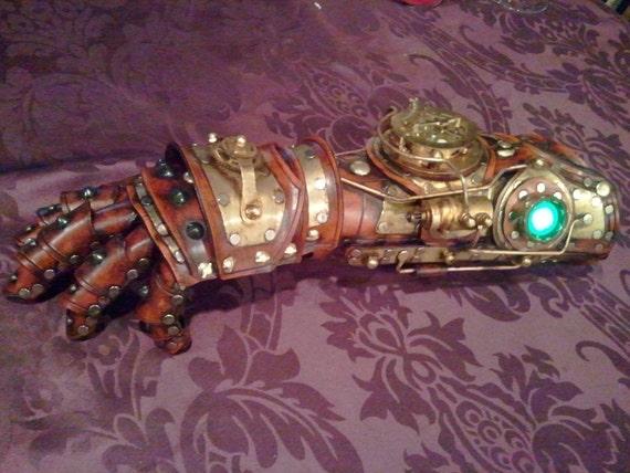 steampunk robot arm