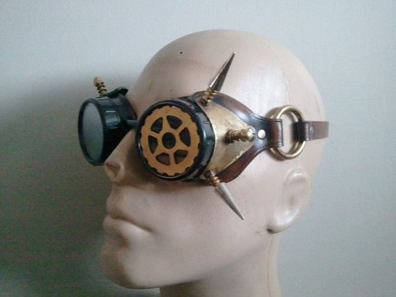 steampunk Arc goggles  perfect for any steamy attire