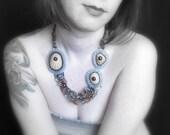 """Sea Urchin necklace """"Low Tide""""  OOAK"""