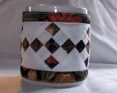 Quilted Mug Cozy Fall Harvest