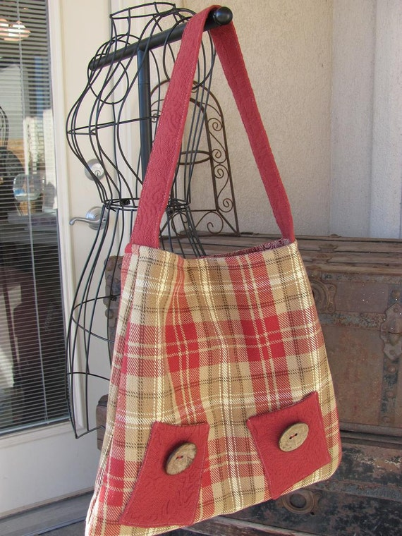 Bethany Bag in Plaid
