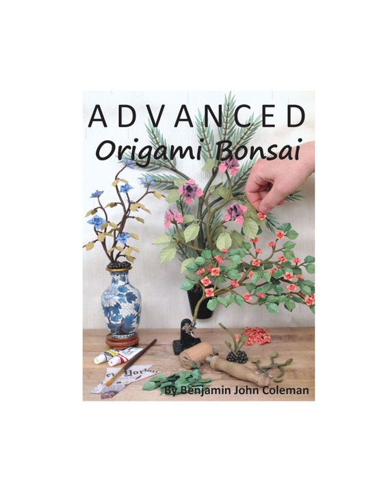 Advanced Origami Bonsai How-To Book on Computer DVD