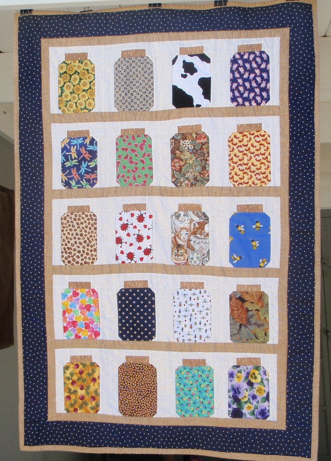 Bug Jar Quilt Not Your Traditional Prints