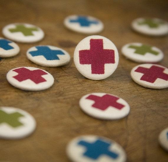 Cross Badge Pin Pack