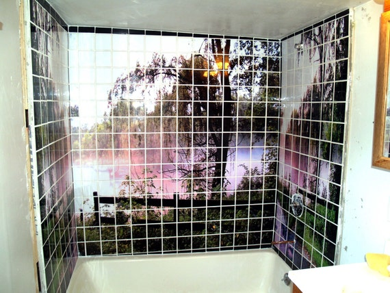 5 ft  x 5ft  Photographic Art Tile Mosaic Wall by CosmicSky