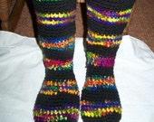 Special order for AnitaCraftyCreations- Slipper socks
