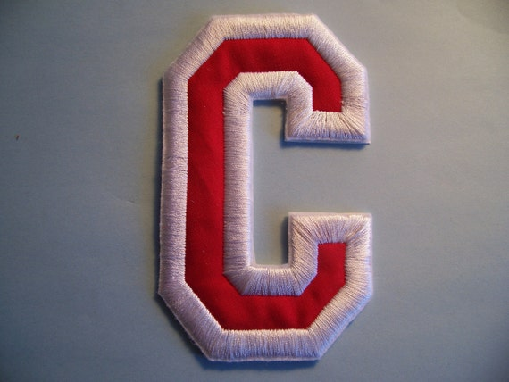 Items similar to Letters and Numbers Embroidered 5 inch Patch Sew On ...