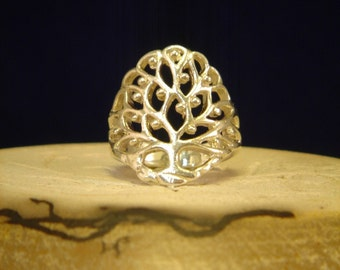 Sterling Silver Tree Of Life Ring all sizes