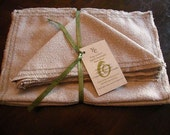 Hemp Placemat and Napkin Set