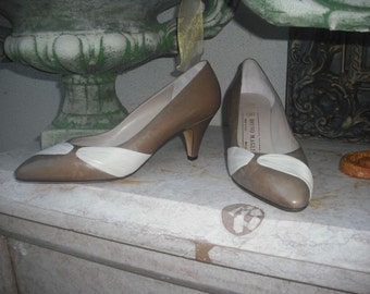 Vintage 1980s Bruno Magli Pumps Nos Never Worn / New with Tags