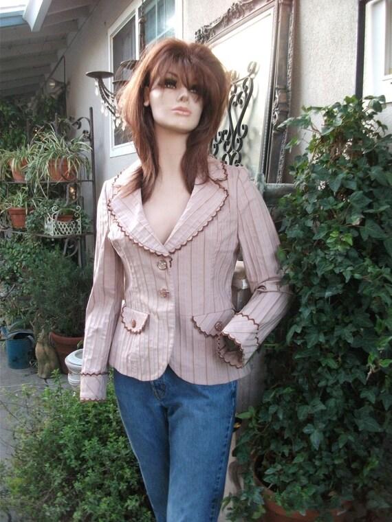 Vtg Jacket Mauve   The Cutest Jacket Ever   Size 6/Petite  Medium