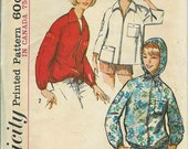 Vintage hooded jacket Pattern 1966