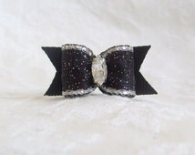 5/8 Pure Elegance Bow in Celebration Black