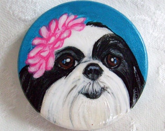 Hand Painted Personalized Magnet