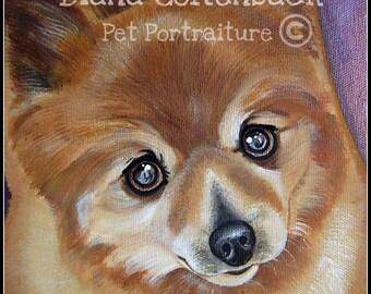 5x5 Custom Pet Portrait