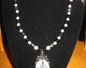 END of SUMMER SALE - Haunted Mansion - A Necklace