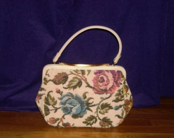 TAPESTRY HANDBAG by JACLYN