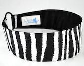 Zebra Stripes Weezy Band, Wide