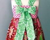 Savannah Reverse Knot Dress...Kissing Kumquats