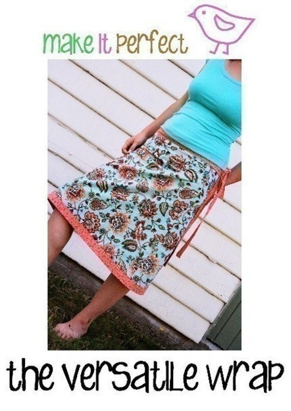 The Versatile Wrap Skirt Pattern by Make It Perfect Patterns